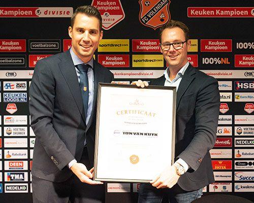 Volvo Ton van Kuyk toegetreden tot FC Volendam Businessclub