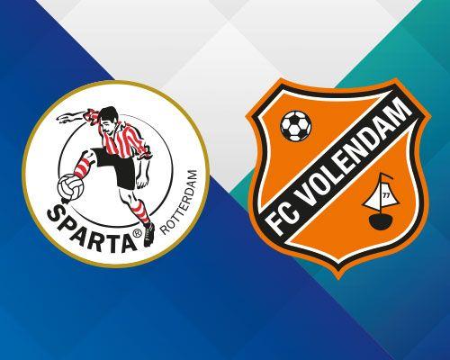Spektakel verzekerd bij bekerduels tussen FC Volendam en Sparta