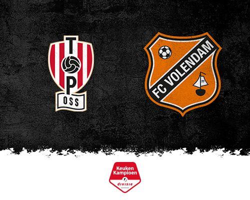 FC Volendam kijkt in Oss met schuin oog naar periodetitel
