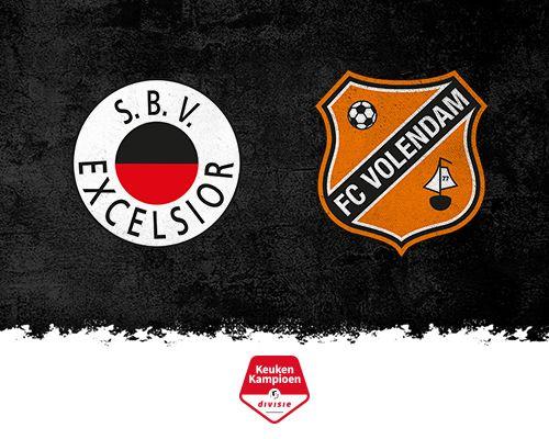 FC Volendam treft trefzeker, maar ook veelvuldig vissend Excelsior