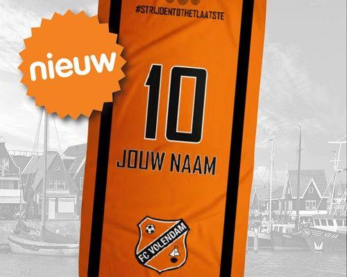 NIEUW in de Fanshop: FC Volendam merchandise met eigen naam!