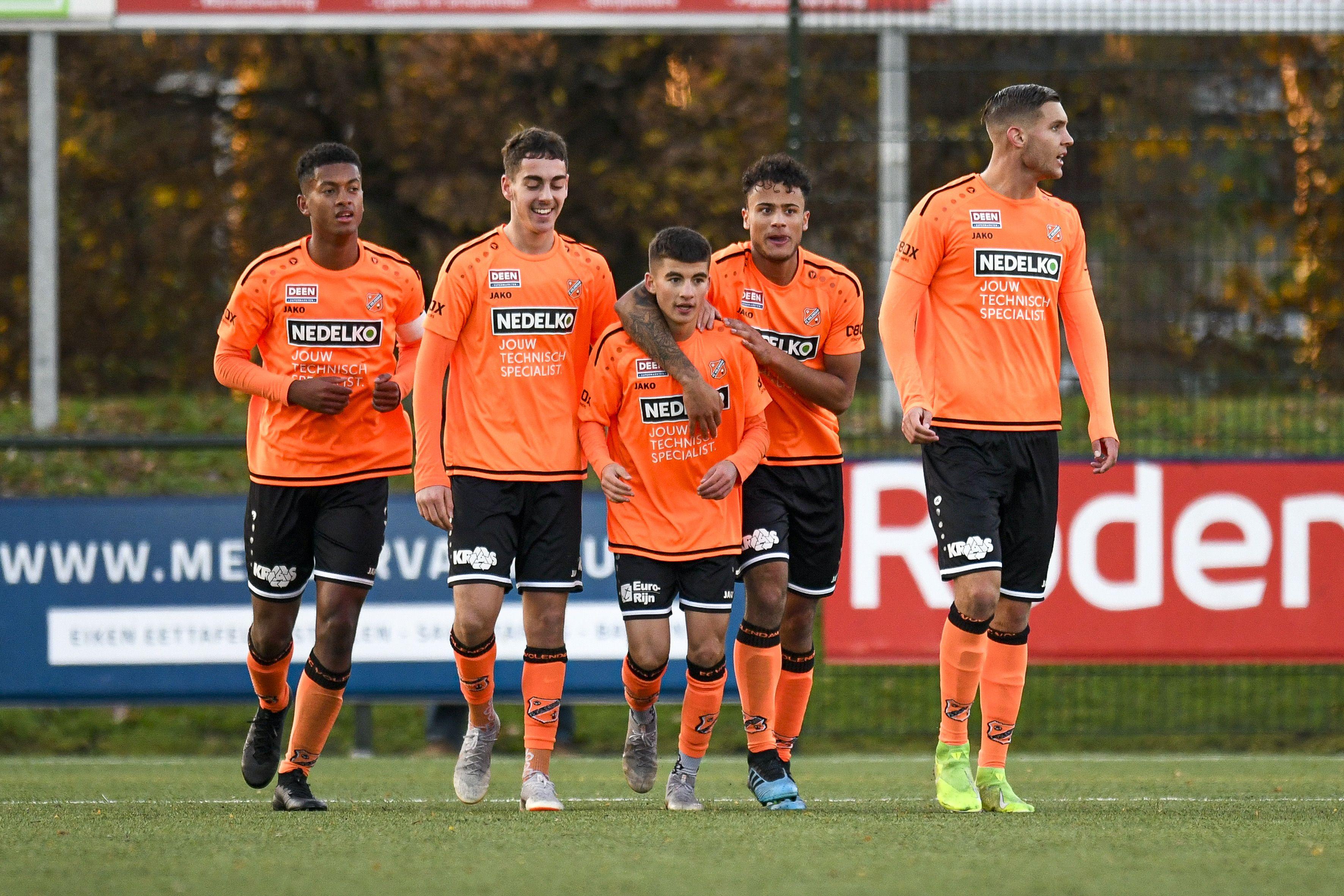 Jong FC Volendam vergeet door te drukken