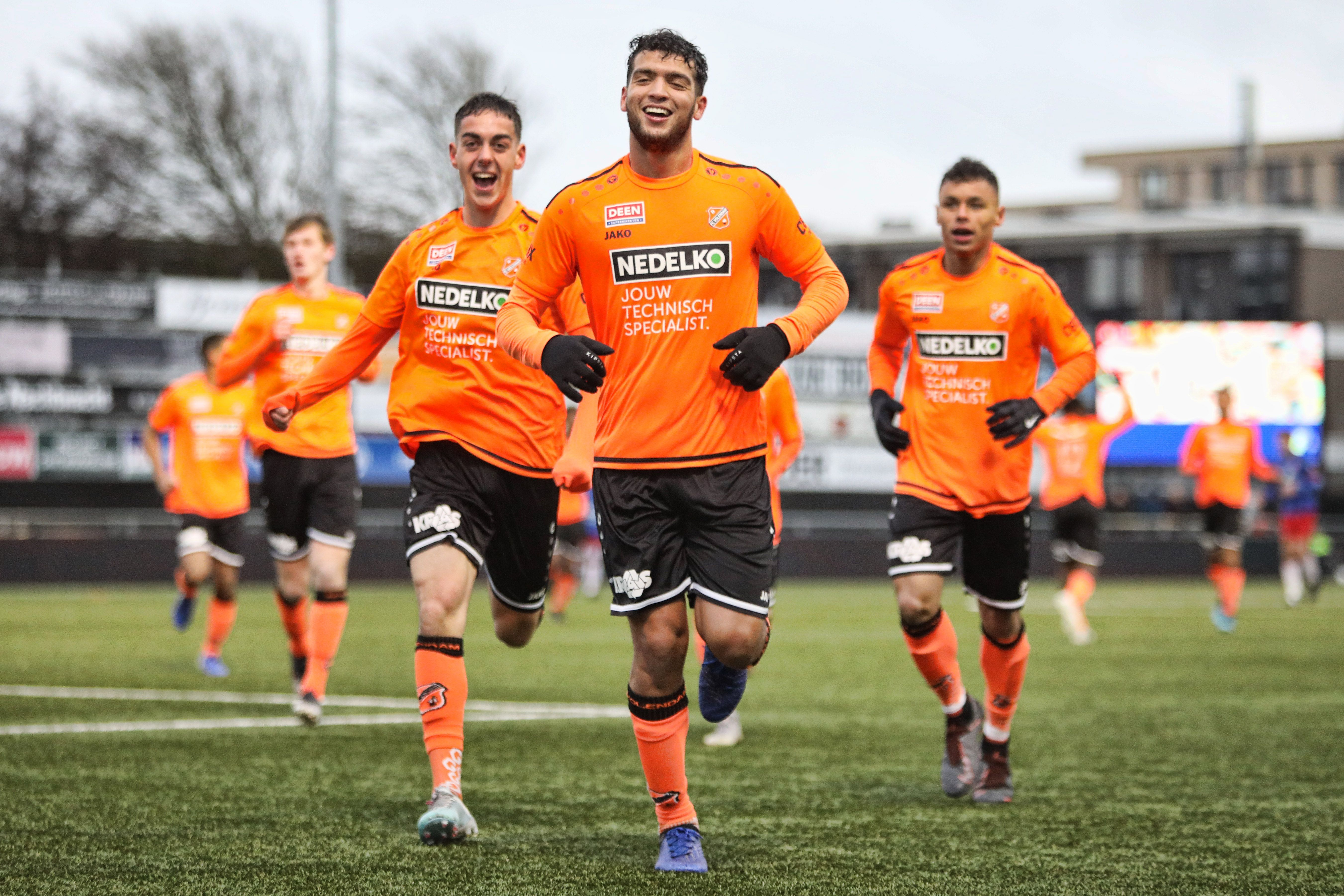 Pak slaag voor Jong FC Volendam na dramatisch kwartier