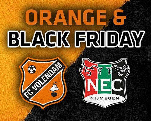 Orange & Black Friday!