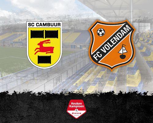 Informatie kaartverkoop SC Cambuur - FC Volendam