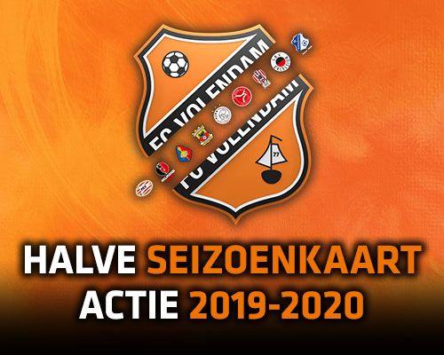 Halve Seizoenkaartactie 2019-2020