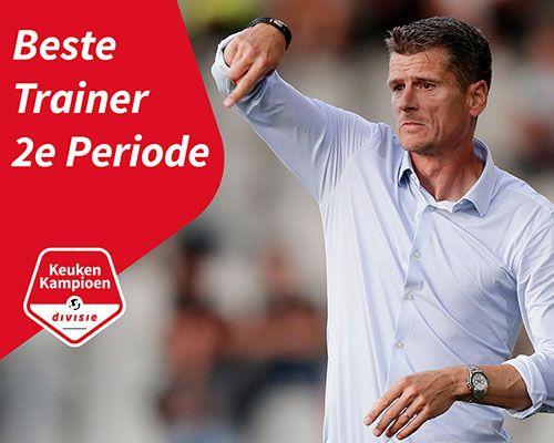 Wim Jonk Beste Trainer 2e Periode