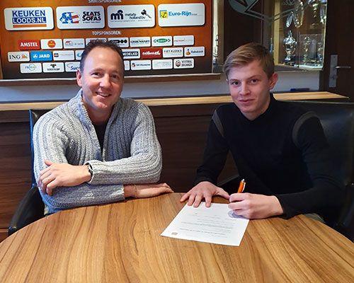 RKAV talent Milan de Haan aangenomen bij FC Volendam voor seizoen 2020/2021