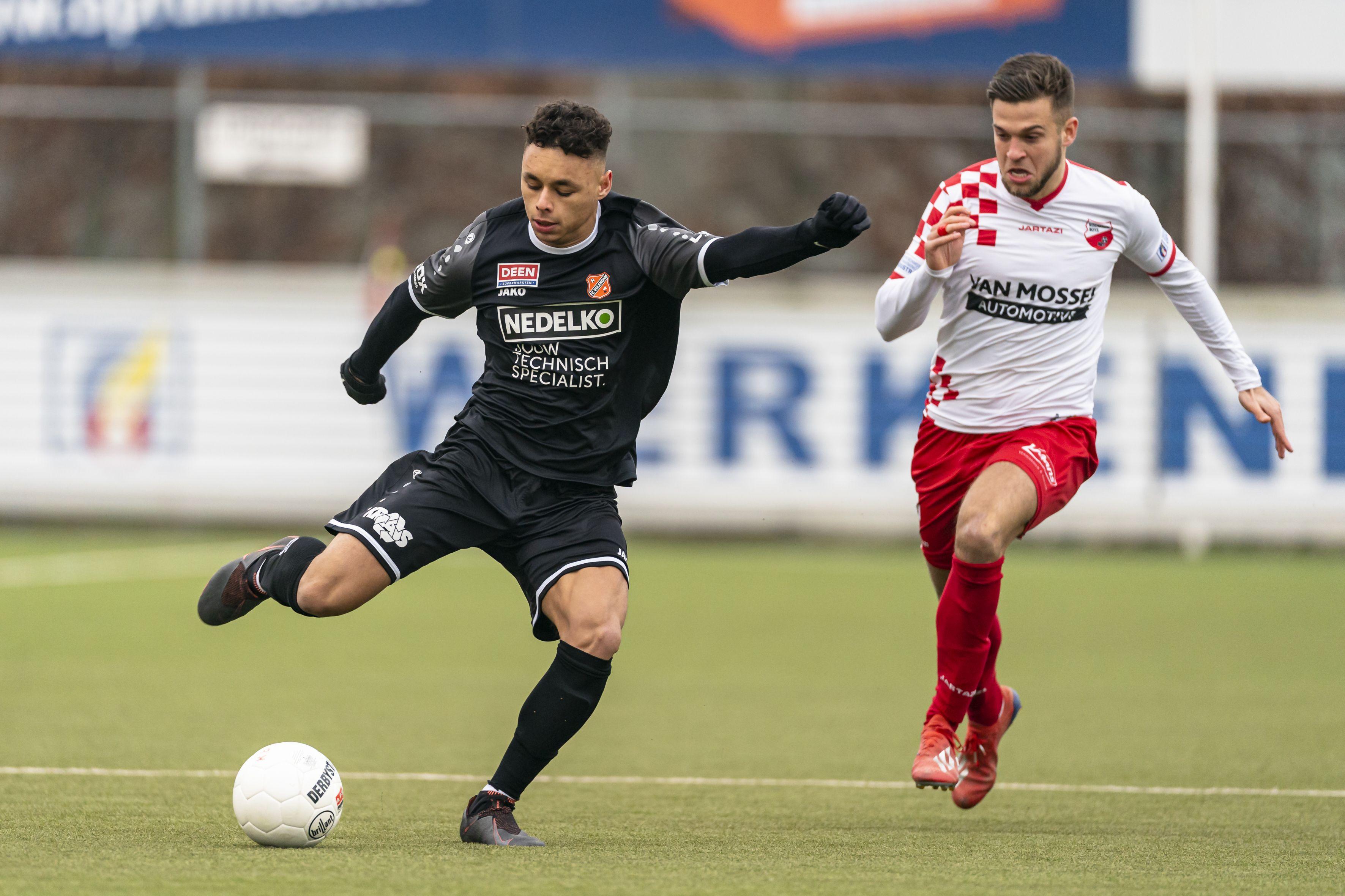 Jong FC Volendam verliest ondanks overtal