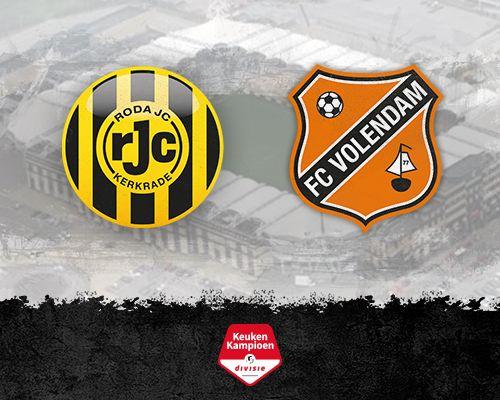 Informatie kaartverkoop Roda JC - FC Volendam