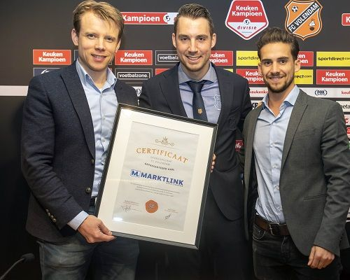 Marktlink treedt toe als businessclublid bij FC Volendam