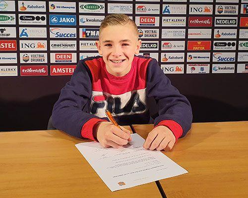 FC Volendam jeugdopleiding pikt talent op bij S.V Hoofddorp