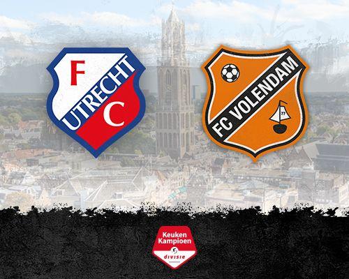 Informatie kaartverkoop Jong FC Utrecht - FC Volendam