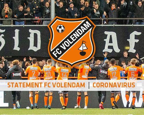 FC Volendam en corona; gezondheid fans voorop