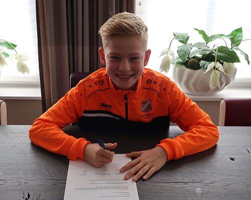 Julian Kras maakt indruk en stapt over naar FC Volendam
