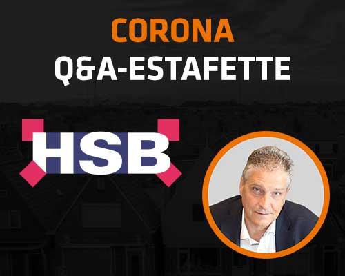 Corona Q&A Estafette: HSB