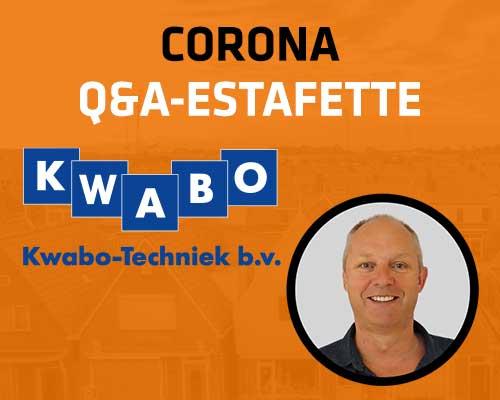 Corona Q&A Estafette: Kwabo