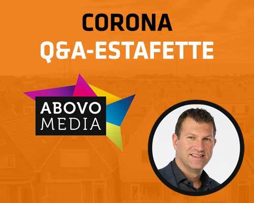 Corona Q&A Estafette: Abovo Media
