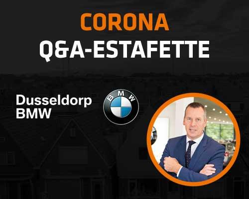 Corona Q&A Estafette: Dusseldorp BMW