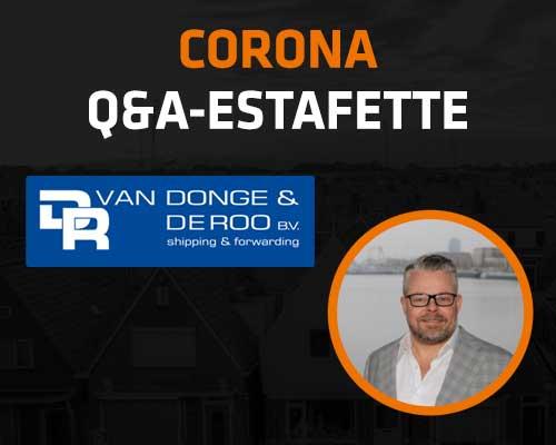 Corona Q&A Estafette: Van Donge & de Roo
