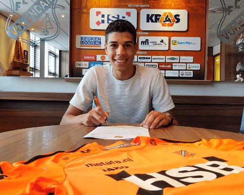 Walid Ould-Chikh maakt indruk en sluit aan bij Jong FC Volendam