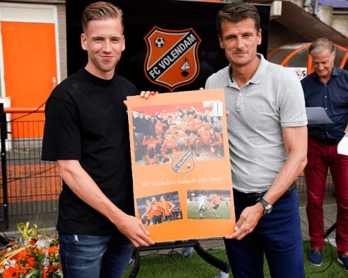 FC Volendam neemt afscheid van vertrekkende spelers