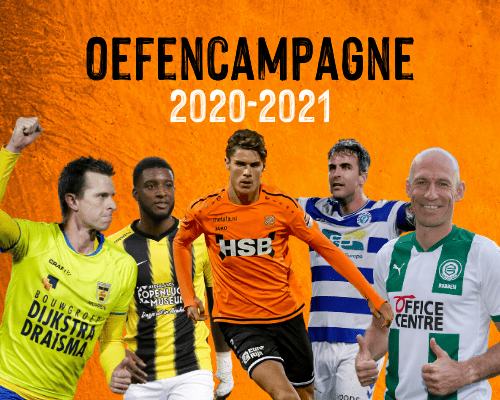 Schema voorbereiding; FC Volendam oefent tegen Eredivisionisten