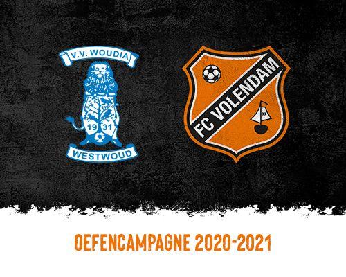 Woudia Allstars eerste tegenstander FC Volendam