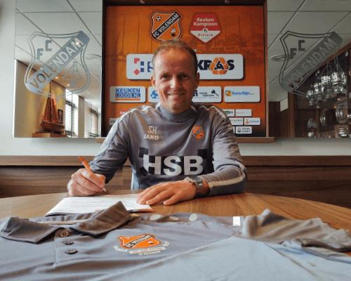 Sipke Hulshoff een jaar langer rechterhand van Wim Jonk