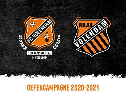 Volendams voetbalfeest tijdens jubileumwedstrijd tegen RKAV Volendam