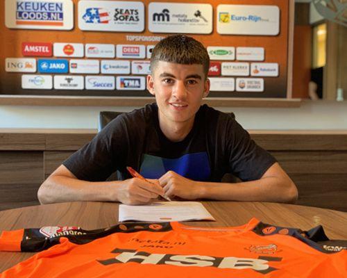 FC Volendam legt Ibrahim El Kadiri vast tot 2024