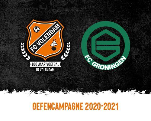 FC Volendam wil tegen FC Groningen kers op voorbereiding zetten