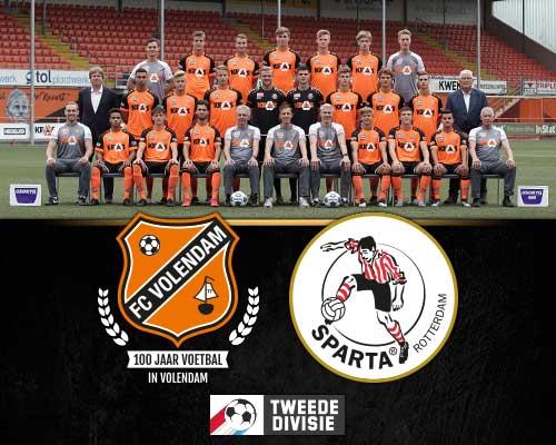 Herstart voor Jong FC Volendam in Tweede Divisie