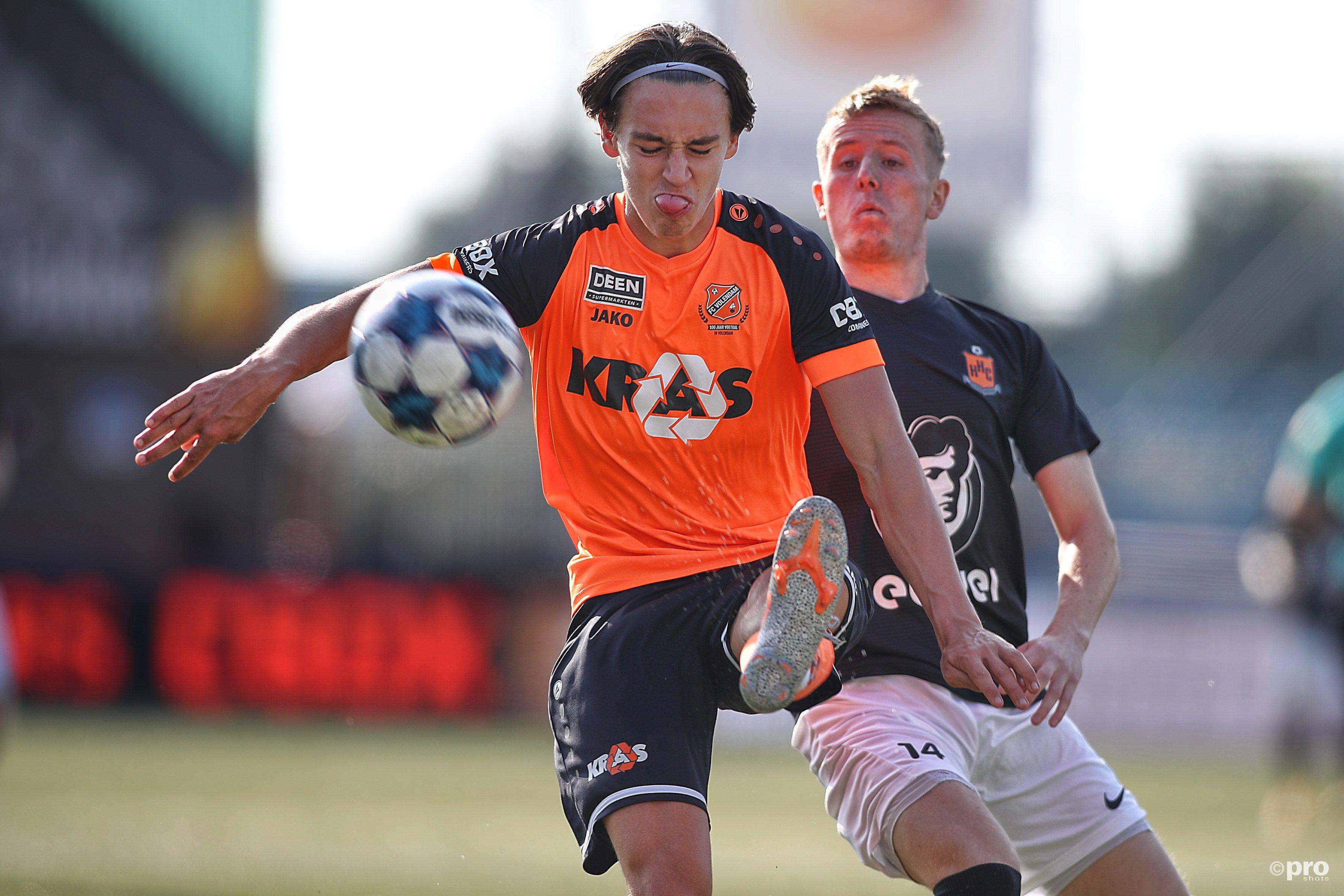 Jong FC Volendam zakt naar de gevaarlijke posities