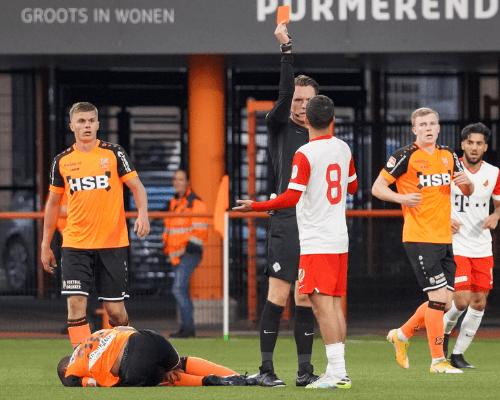 FC Volendam ongelukkig onderuit tegen Jong FC Utrecht