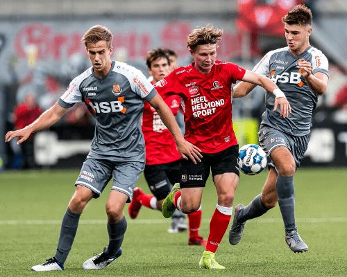 Invaller Doodeman kopt FC Volendam laat langs Helmond Sport
