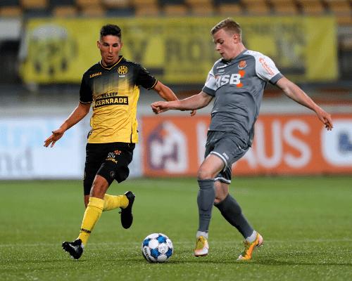 FC Volendam geeft zege uit handen in Kerkrade