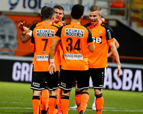 Zevenklapper voor FC Volendam