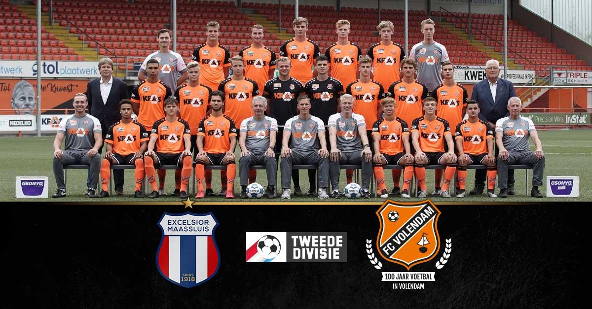 Excelsior Maassluis moet eerste prooi voor Jong FC Volendam worden