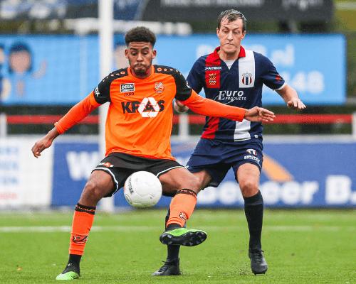 """Jong FC Volendam verbreekt """"vloek"""" bij Excelsior Maassluis"""