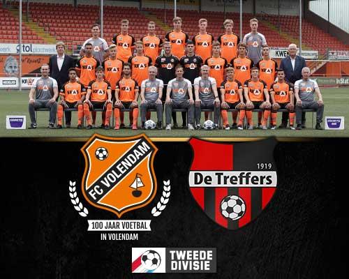 Jong FC Volendam op jacht naar middenmoot