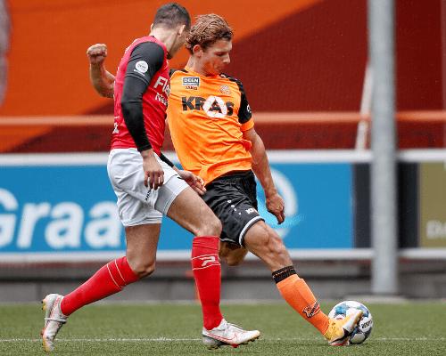 Puntendeling Jong FC Volendam in debutantenbal