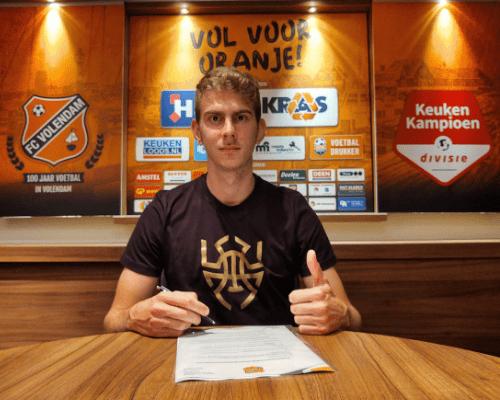 FC Volendam versterkt zich met Griekse spits Giannis Iatroudis
