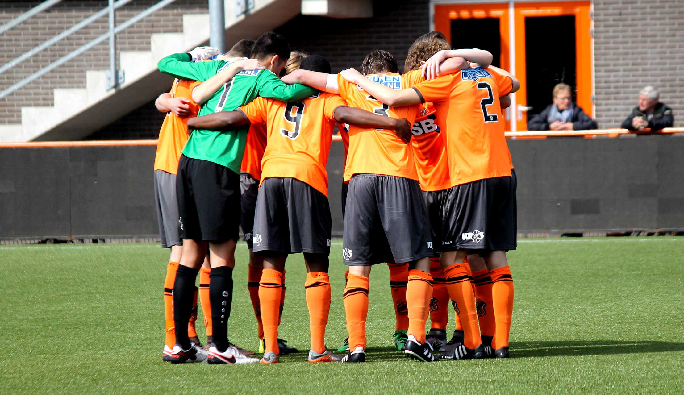 Fotoverslag FC Volendam O18 - VA N.E.C. O18 (Fotograaf: Saskia Koppes)