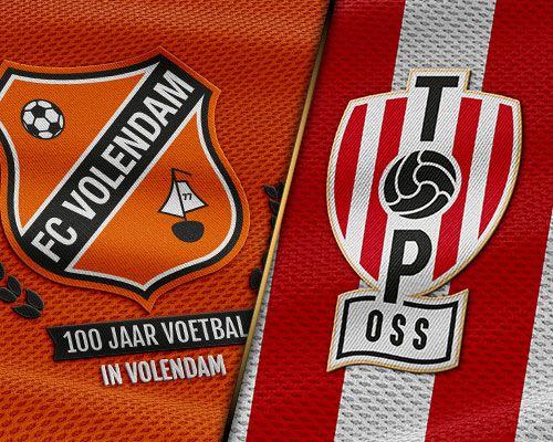 Oranje-getint TOP Oss volgende opponent voor FC Volendam in vorm