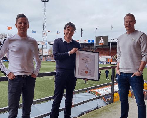 Eurosport nutrition van FC Volendam-fan Thars Duijnstee verlengt samenwerking
