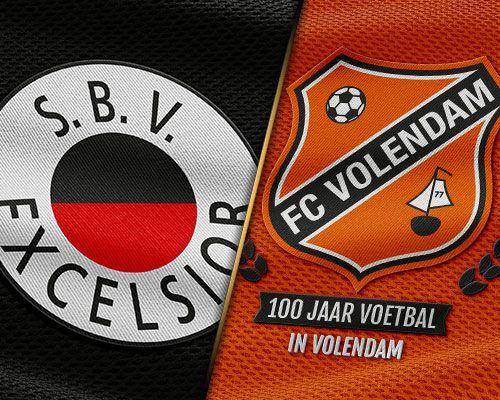 FC Volendam trapt in Kralingen de week af
