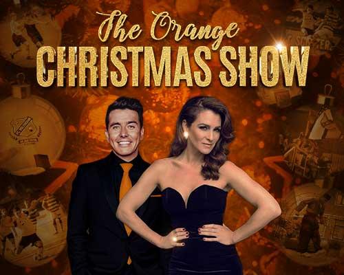 Programma The Orange Christmas Show compleet, loterij met prachtige prijzen