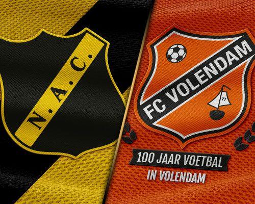 FC Volendam sluit jaar af met kraker tegen NAC