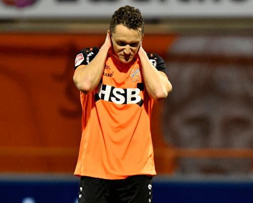 FC Volendam begint jaar met nipt verlies tegen MVV